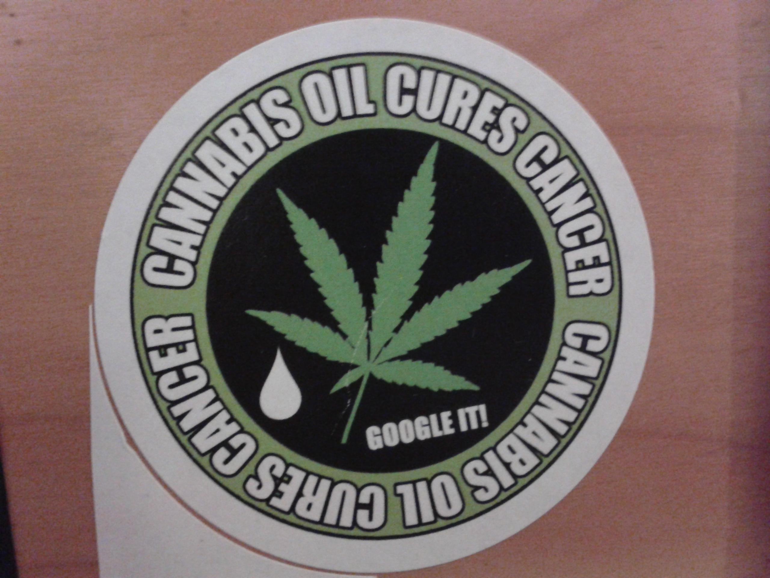 cannabis sticker
